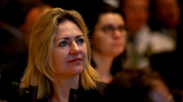 Margaret Cunneen, who was wrongly accused of corruption.