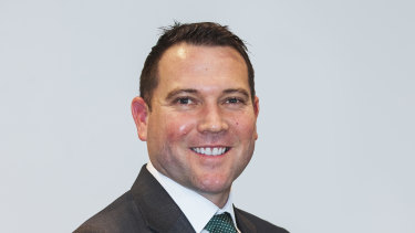Incoming Football Federation Australia chief executive James Johnson.