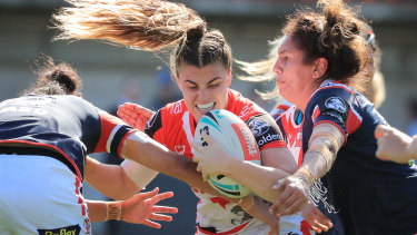 Dragons star Jesscia Sergis is one of the players to watch at the World Nines.