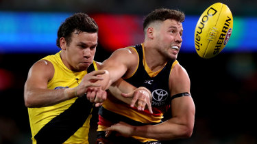 Hungry for the battle: Richmond v Adelaide.