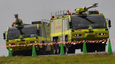 Major emergency training exercise for Avalon Airport.
