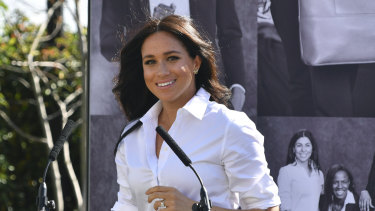 The Duchess of Sussex in September 2019.