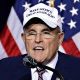 Former New York City mayor, Rudy Giuliani.