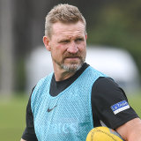 Collingwood coach Nathan Buckley's future at the club won't be determined by new president Mark Korda.