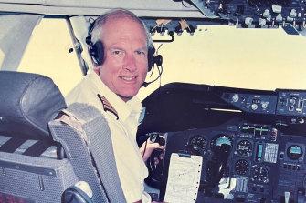 Norm Field Qantas pilot held in high regard.