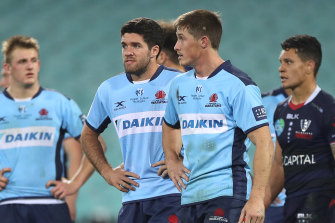 The Waratahs crashed to a third loss from four matches since resuming their season.