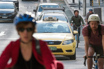 Australia is one of the few countries in the world to make the wearing of bike helmets mandatory.