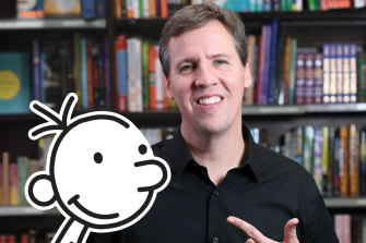 American children's author Jeff Kinney.