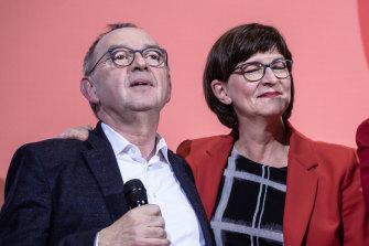 Norbert Walter-Borjans and Saskia Esken have been declared the winners of German Social Democrats leadership ballot.