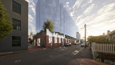 CostaFox's plans for a 5000 square metre office at 1-11 Gordon Street were approved.