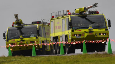 Major emergency training exercise for Avalon Airport.