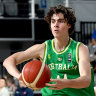 Teen Giddey shines on debut in huge Boomers win