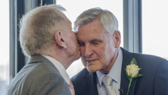 Justice Michael Kirby weds 50 years after that summer of '69