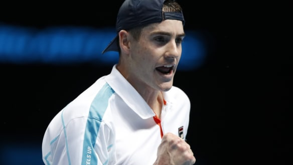 John Isner pays tribute to late friend after loss to Marin Cilic