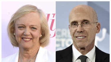 Meg Whitman and Jeffrey Katzenberg are launching their ambitious project right in the middle of a pandemic.