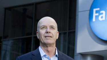 Fairfax chief executive Greg Hywood's plan to merge New Zealand arm Stuff with newspaper business NZME has been rejected.