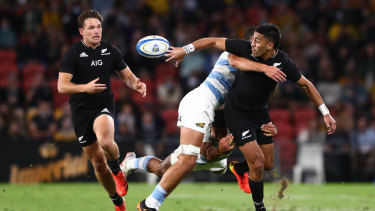 Rieko Ioane and the All Blacks are playing expansive rugby.