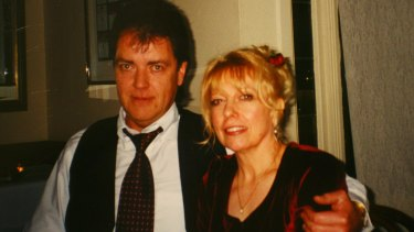 Terence Hodson and his wife Christine in 2000. They were murdered in their Kew home in May 2004.