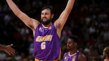 Andrew Bogut's NBL playing future remains uncertain.
