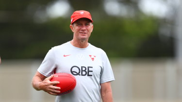 Former Adelaide coach Don Pyke has brought his attacking flair to the Swans.