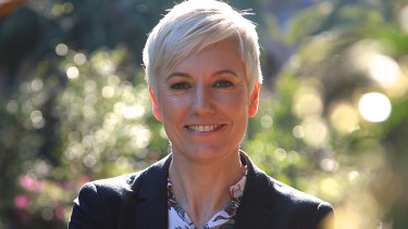 Cate Faehrmann says she is a feminist MP who believes deeply in the principles of natural justice.
