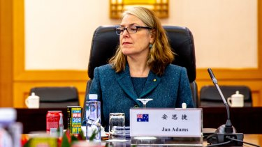 Australia's new Ambassador to Japan, Jan Adams, was ambassador to China until August 2019.