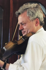 Kevin O'Connor, a keen violinist.