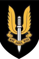 The SAS logo: 'Who Dares Wins'