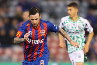 Roy O'Donovan should not have been on the pitch when he scored the decisive goal, says Western United coach Mark Rudan.