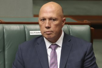 Home Affairs Minister Peter Dutton was told about the rape allegation before the Prime Minister.