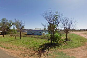 Google Street View showing Daryl Maguire's investment property in Ivanhoe, NSW.
