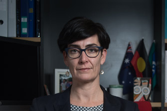 Victorian Children's Commissioner, Liana Buchanan.