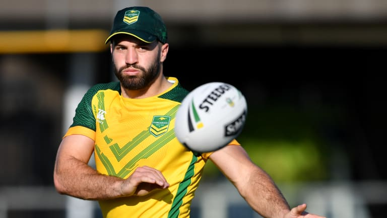 Volunteer: James Tedesco says he would have played for Australia against Tonga for free.