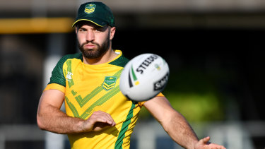 Golden boy: James Tedesco even more potential honours to come in his glittering season.