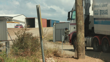 Neighbours said the Elimbah business was by far the busiest fruit operation in the district.