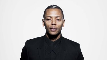 DJ and composer Jeff Mills.