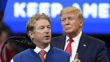 Republican Senator Rand Paul has demanded the media name the alleged whistleblower.