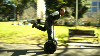 Segway slams brakes on production of original personal transporter
