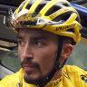 Alaphilippe loses Tour de France yellow jersey as hailstorm halts the race
