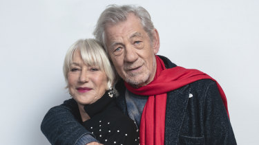 Helen Mirren and Ian McKellen star in The Good Liar. ''At least when you employ us, you know what you're getting. No nonsense,'' says McKellen.