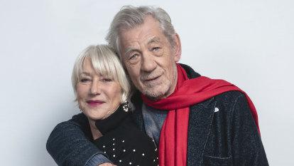 Ageing, yes. Past it? No way. Helen Mirren and Ian McKellen play on