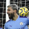 Aguero strikes again amid late Premier League drama