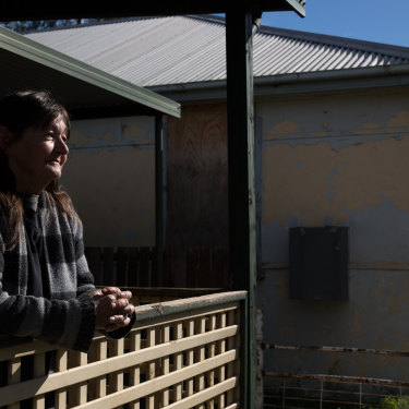 """We don't see anyone new coming into town"": Jude Nickson at her home in Gulargambone."