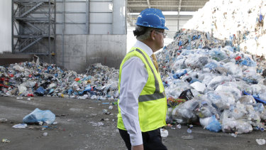 The Morrison government's recycling fund will support projects that turn waste into new products.