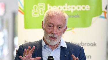 Patrick McGorry says Headspace needs to be scaled up to meet increased demand.
