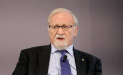 Gareth Evans is a key proponent of the UN's Responsibility to Protect doctrine.