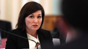 Quensland Environment Minister Leeanne Enoch.