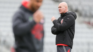 St George Illawarra Dragons Coach Paul Mcgregor Relishing Underdogs Tag As Jack De Belin Given Until Warm Up To Prove Fitness For South Sydney Rabbitohs Clash