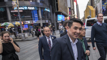 Eric Yuan founded Zoom nine years ago founded nine years ago after he defected from Cisco Systems and took about 40 engineers with him.