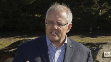 "Scott Morrison said JobKeeper was created and estimates about its spread made at a time of ""incredible uncertainty""."